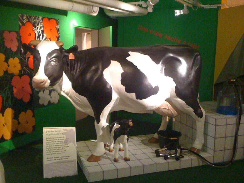 La vache de Mr Warhol au Musée en Herbe