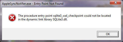 fichier sqlite3.dll