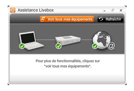 Assistance Livebox