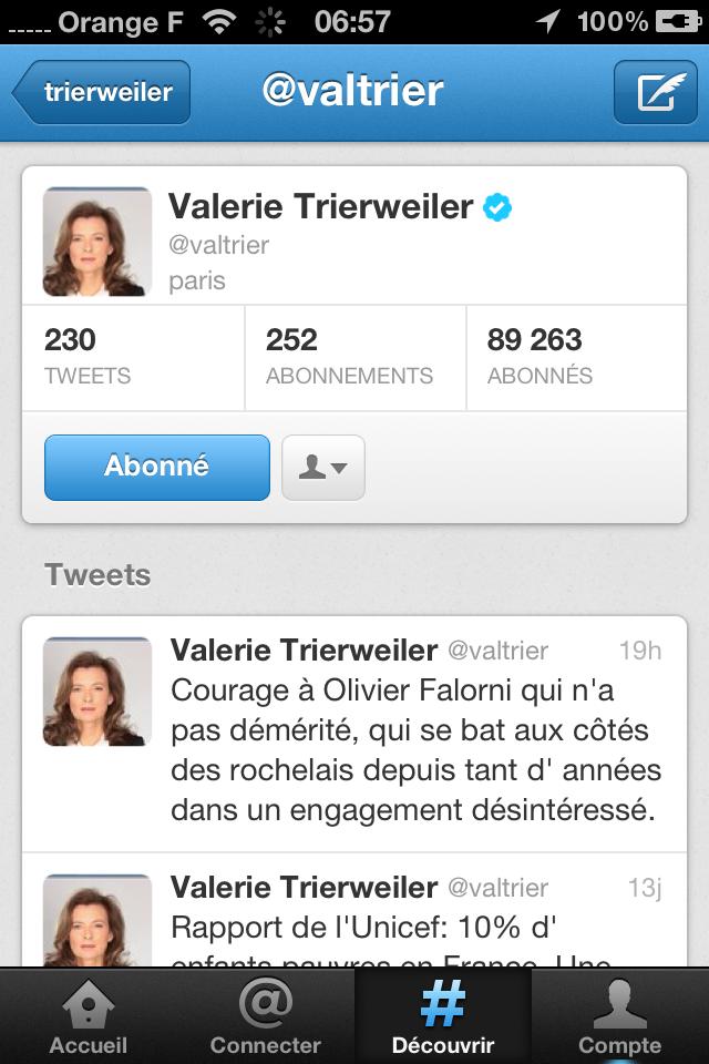 Le tweet de trop de Valérie Trierweiler