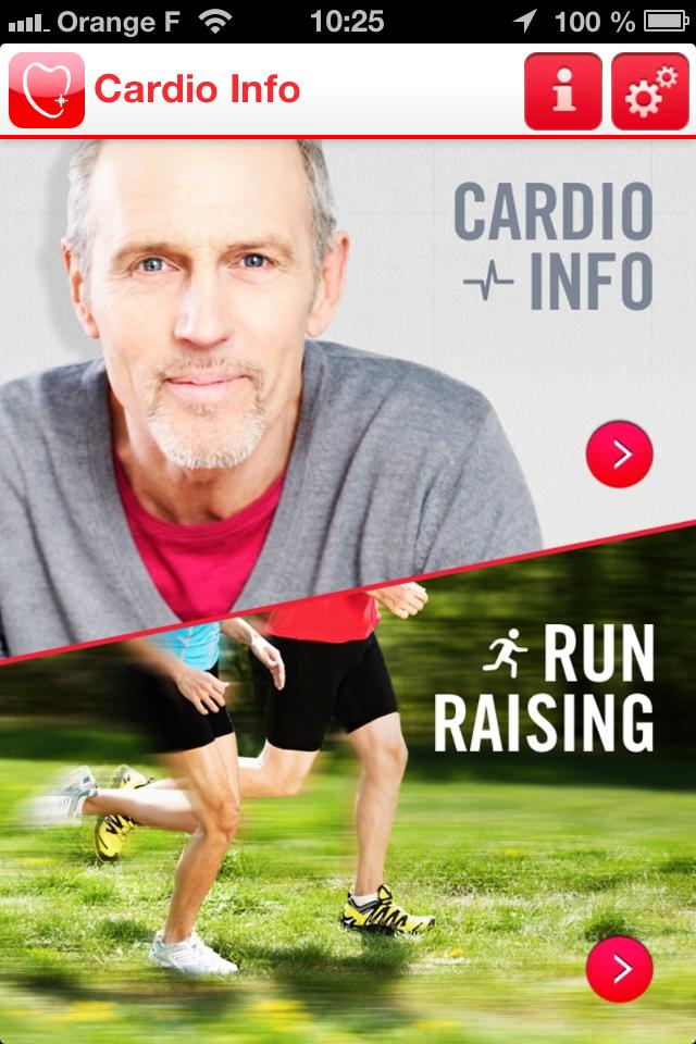 Cardio Info une appli pour le coeur et les coureurs