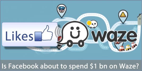 Waze et Facebook sont dans un bateau...