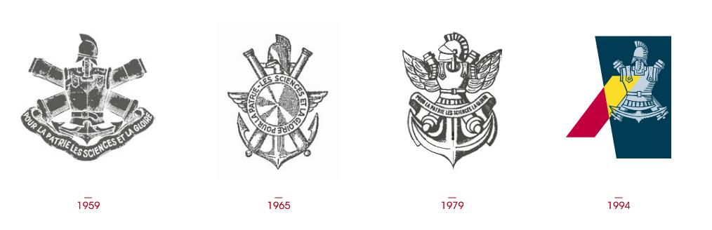 anciens logo de l'école polytechnique