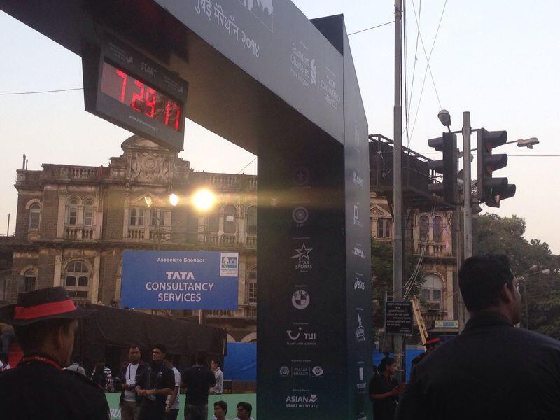 tata consultancy services mumbai marathon