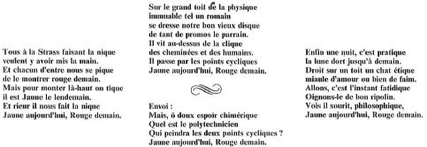 La Ballade du Disque, A. Bascou, X1909