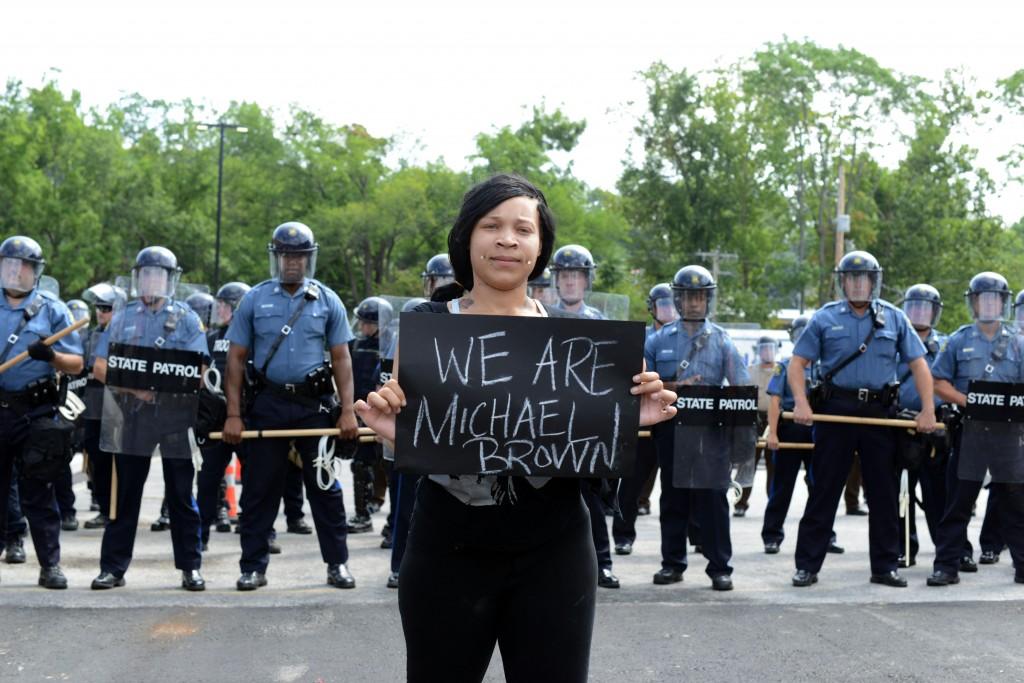 Manifestations à Ferguson