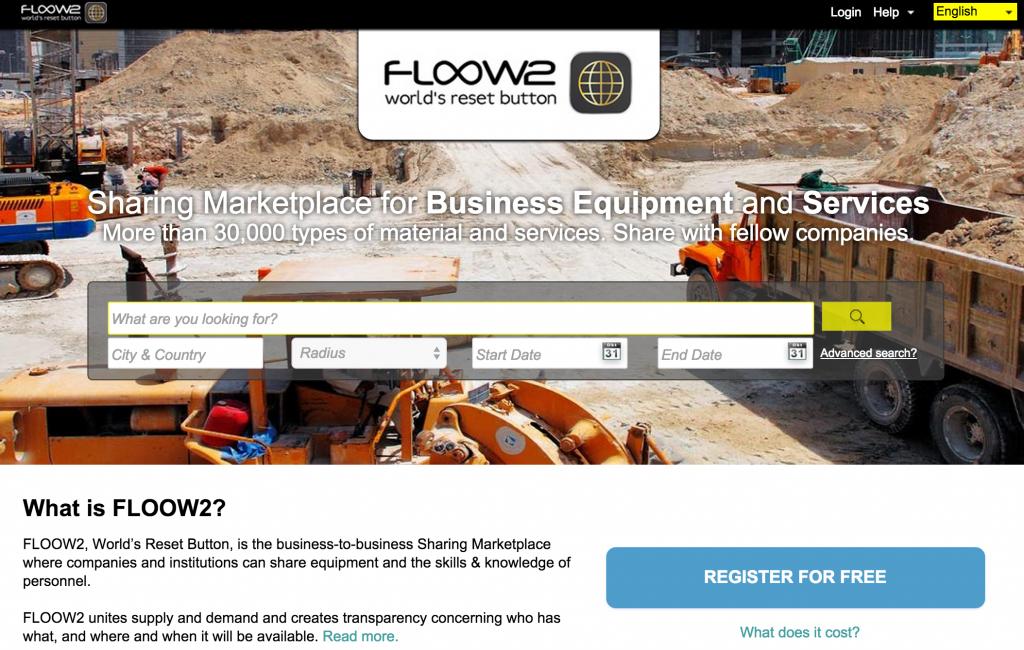 Floow2 B2B marketplace
