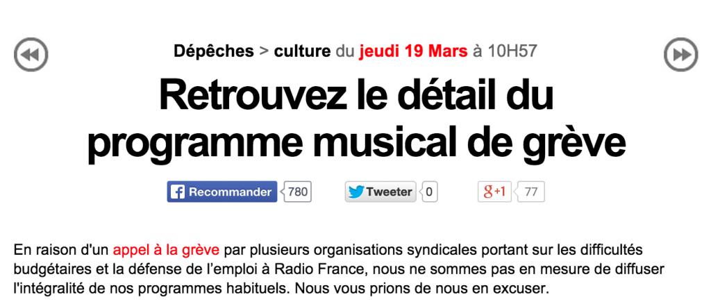 greves radio france