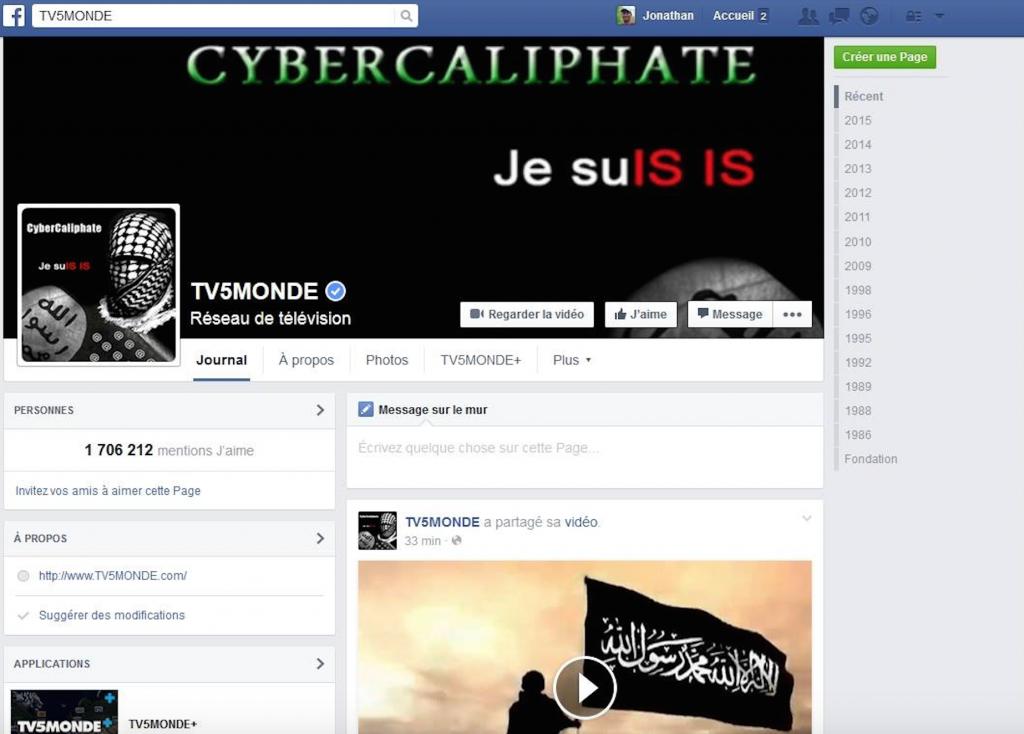 cyber attaque tv5 monde