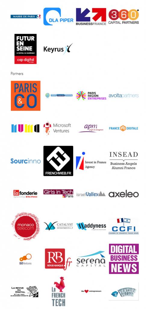 Axis Paris partenaires 2015