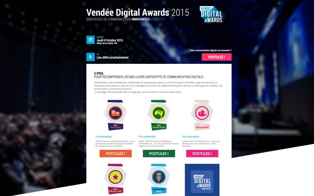 Vendee digital awards 2015
