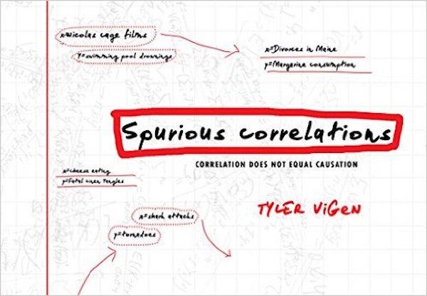 spurious correlations cover