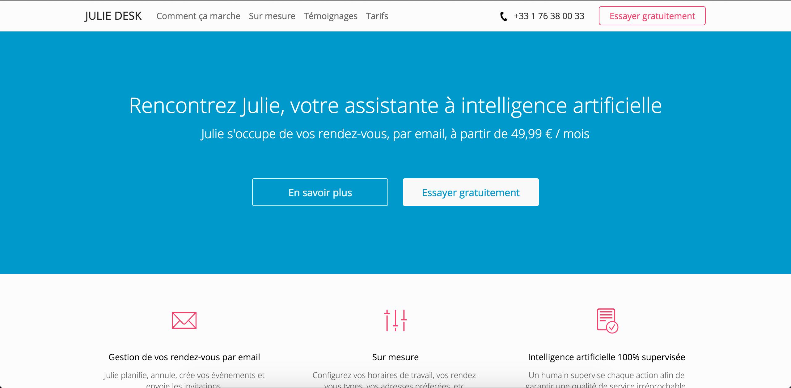 2015 11 09 Juliedesk screenshot