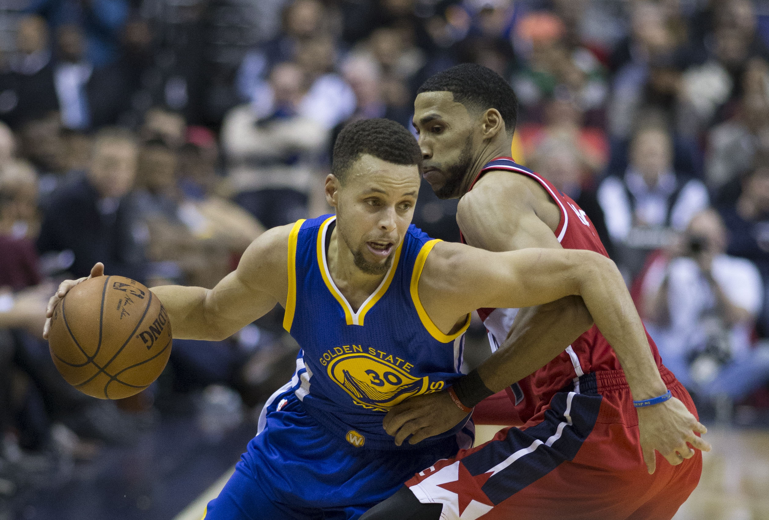 Warriors at Wizards 2/3/16