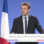 Le candidat Macron