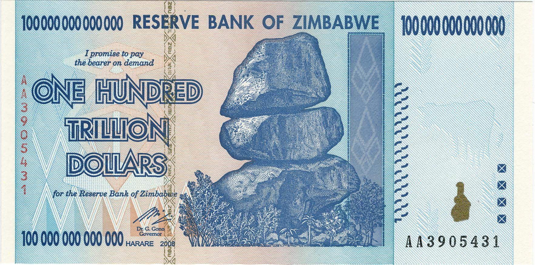 reserve bank zimbabwe