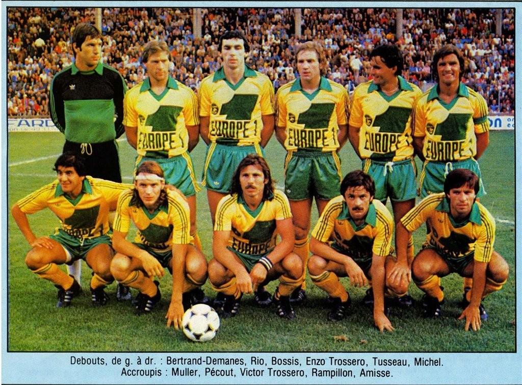Equipe du FC Nantes 1979-1980