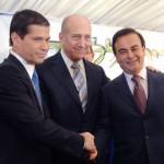 Carlos Ghosn et Shai Agassi