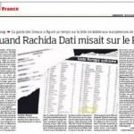 Rachida Dati a failli devenir une éléphante…