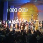 Le Roi Lion fête son 1000000e spectateur