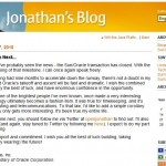 Bye bye Jonathan