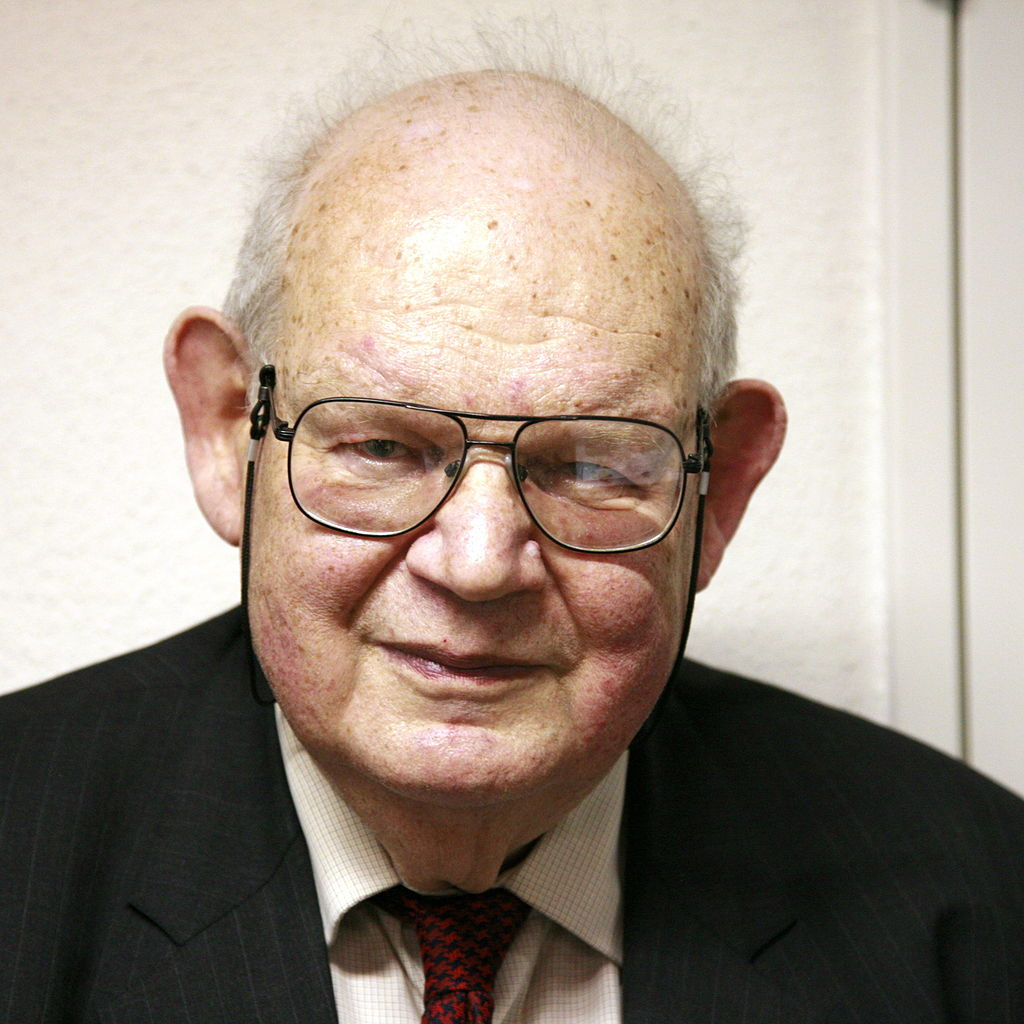 Photo of Benoit B. Mandelbrot