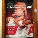 Preview des Liaisons dangereuses au Théâtre de l'Atelier