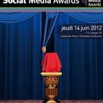 Social Media Awards 2012 le 14 juin prochain