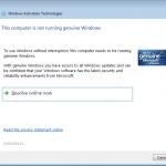 Windows Activation Technologies me casse les bonbons