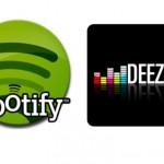 Deezer ou Spotify?
