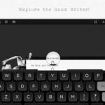 Hanx, une machine à écrire pour iPad