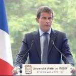Valls attaque #uemedef14