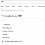 2014 selon Google