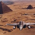 Rafales sur Le Caire