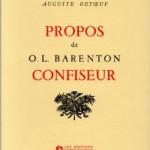 Propos de O.L.Barenton, Confiseur