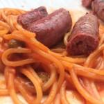 Hommage au spaghetti-merguez