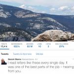 Twitter et la transition des chefs d'état