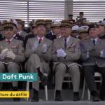 Quand la Garde Républicaine joue du Daft Punk sur les Champs Elysées…