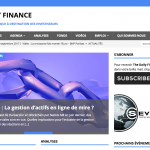 Bienvenue à The Daily Finance