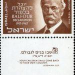 Le centenaire de la Déclaration Balfour