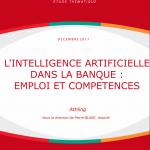 Intelligence artificielle dans la banque: emploi et compétences