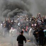 Balles tragiques à Gaza