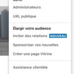 Inviter ses contacts à aimer la page LinkedIn que l'on gère… une fausse bonne idée?