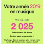 Spotify vous en dit plus sur vos goûts musicaux