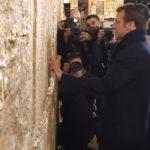 Macron au Kotel