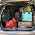 À quand des bagages adaptés au coffre de votre voiture !